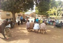 Photos of participants at Sisipe