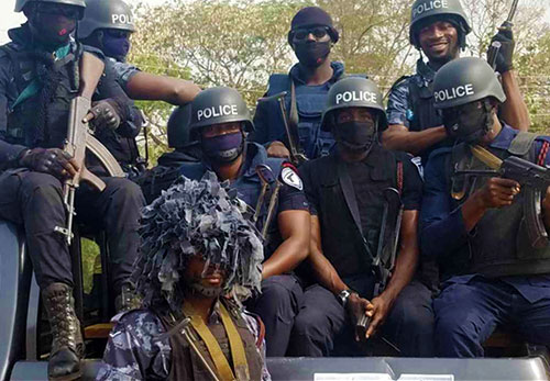 Ghana's SWAT Team