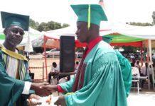 Blind Graduate