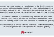 Huawei Reassures Customers