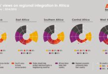 Regional Integration In Africa Afrobarometer Infographic