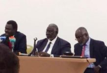 Sudan Revolutionary Front rejects July 17, 2019 Political Declaration