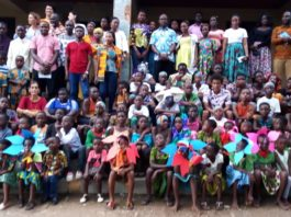 Australian High Commission, Geodrill and others partner to support the 'Children of the Light Learning Centre'