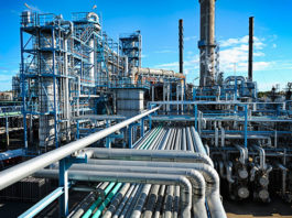 oil-gas refinery