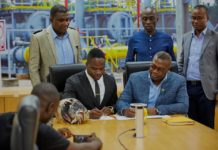Akwasi Frimpong signs partnership deal with Ghana Gas
