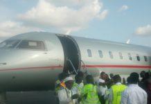 Arrival Asantehene