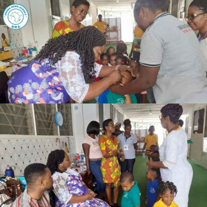 Polio vaccination progresses steadily in Tema West