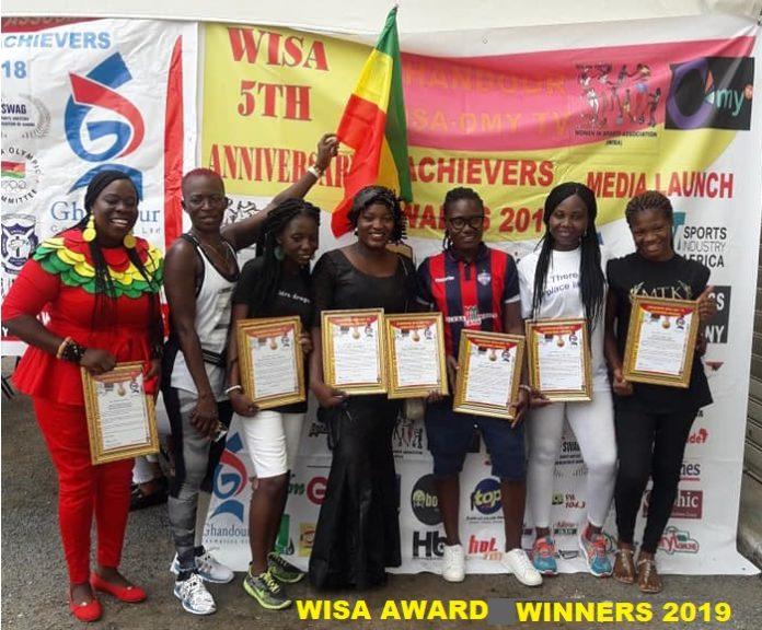 WISA WINNERS 2019