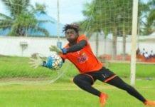 Goalkeeper Razak Abalora