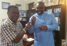 D. K. Poison Meets Sports Minister