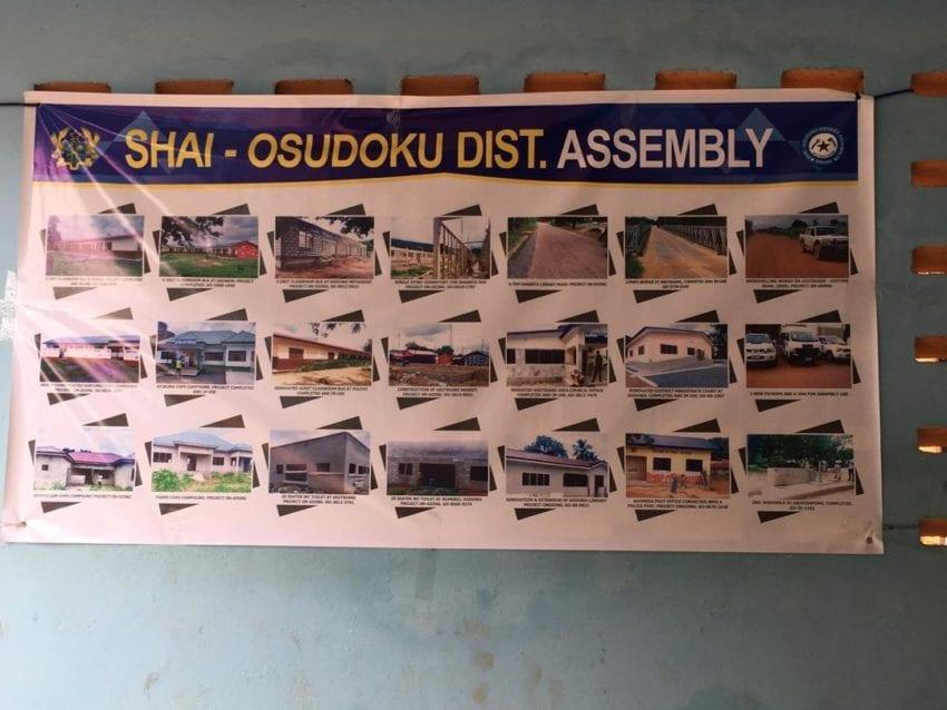 Shai Osudoku District Assembly meets the press