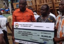 Gomoa East MP donates