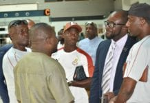 GFA President And ExCo Members See Off Black Meteors