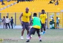 Ghana captain Andre Ayew