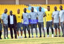 C. K. Akonnor first training session with Black Stars