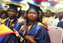 Ghana graduates