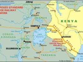 """""""Proponents of the New Paradigm in Africa have a new milestone to celebrate, with the opening of a new segment of the Mombasa-Kisumu Standard Gauge Rail (SGR) line in Kenya. On October 16, Kenyan President Uhuru Kenyatta led a celebration to open Segment 2A, a 120 kilometer (75 mile) extension from the capital (and current terminus) of Nairobi, to Naivasha, a large town northwest of the capital. Opening of this—admittedly rather short—segment nonetheless brings the SGR project one step closer to its planned destination: Kampala, the capital city of neighboring, landlocked Uganda."""""""