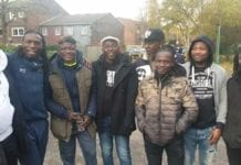 Coach Sarpong in London