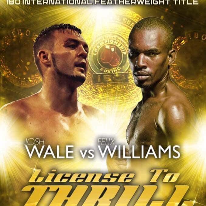 Felix Williams Loses IBO international featherweight