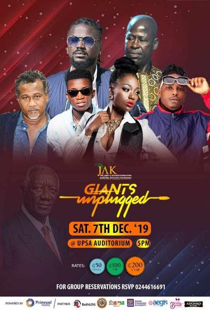 """Venue for """"Giants Unplugged"""" musical concert changed"""