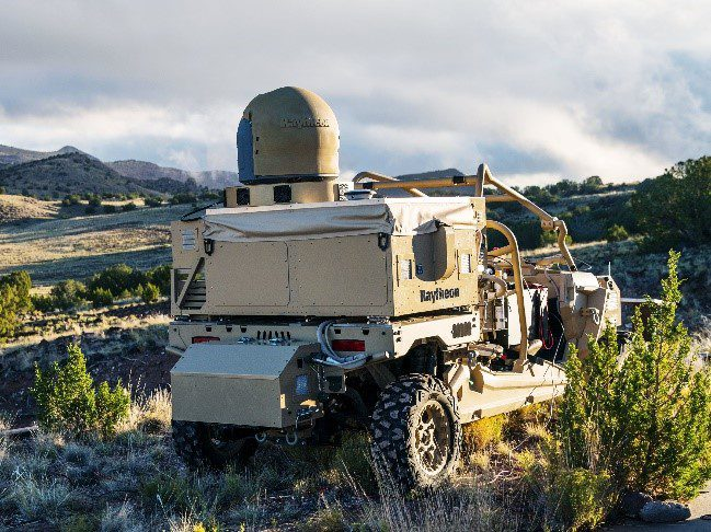Raytheon's Buggy Anti Drone