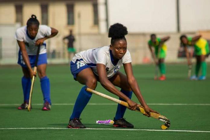 Ghana Police Female Hockey team