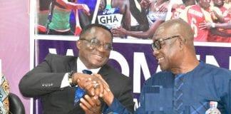 GOC Presidents B.T. Baba And Ben Nunoo Mensah