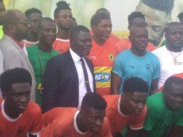 Asante Kotoko have unveiled their new coach Maxwell Konadu