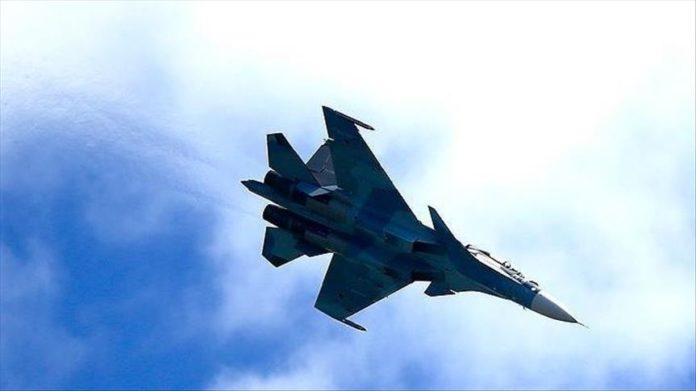 Egyptian fighter jet