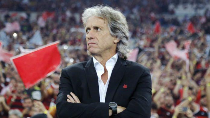 Flamengo head coach Jorge Jesus