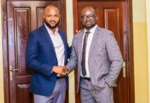 Kurt Okraku and Yaw Ampofo Ankrah met