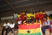 Ghana Team places