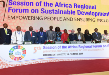 """The 5th Session of the Africa Regional Forum on Sustainable Development (ARFSD), with the theme of """"Empowering People and Ensuring Inclusiveness and Equality,"""" provided a space for discussions on identifying the specific challenges Africa faces in achieving SDGs 4, 8, 13, 16 and 17 and the levers of change required to accelerate their implementation. ARFSD"""