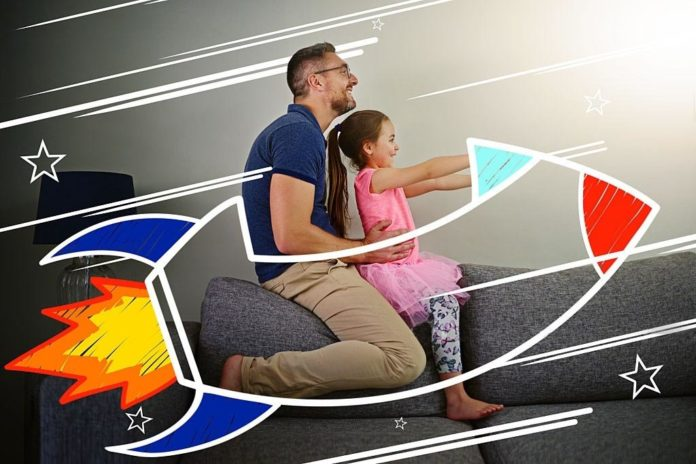 teaching kid