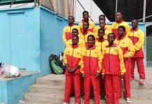Ghana Tennis team