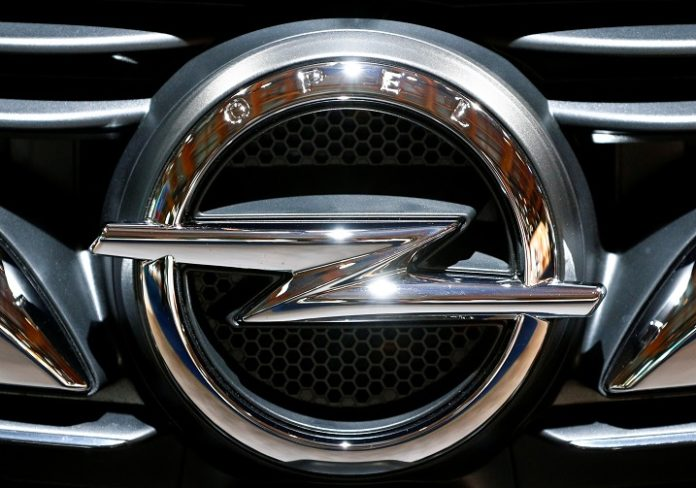 The logo of a German car manufacturer Opel is seen at Brussels Motor Show, Belgium January 9, 2020. REUTERS/Francois Lenoir