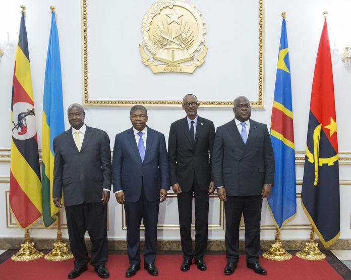 Quadripartite Summit   Luanda, 12 July 2019