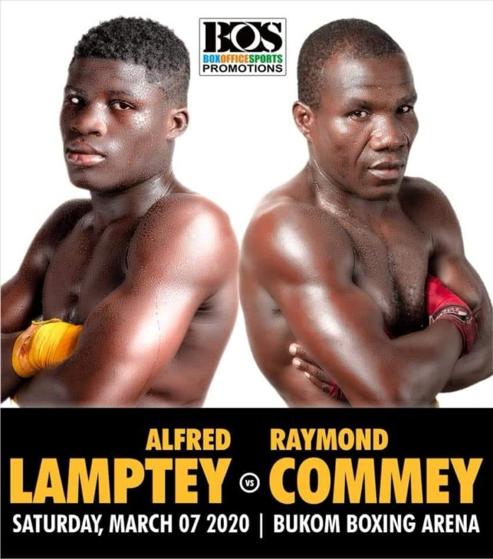 Lamptey To Face Commey