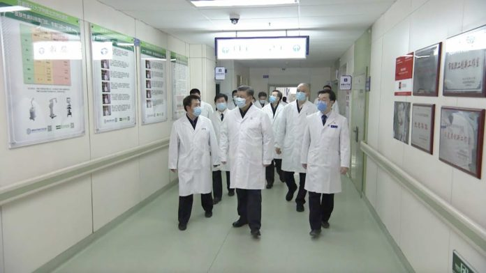 Xi's inspection to anti-epidemic
