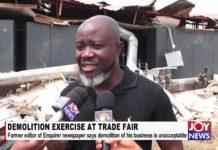 Trade Fair Demolition