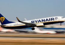 Due to weather conditions, the Ryanair flight landed at Dublin Airport instead of Shannon. Photograph: Reuters/Paul Hanna/File Photo