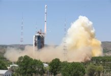 Ziyuan III 02 satellite launch from Taiyuan Satellite Launch Center in north China's Shanxi Province