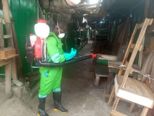 Eight traders picked up at Ashaiman market during fumigation