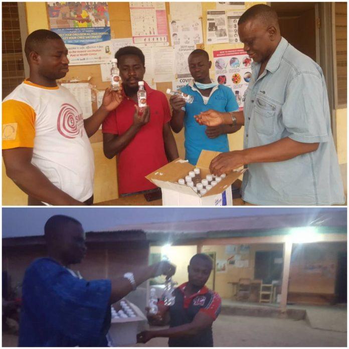 Donation Sanitizers