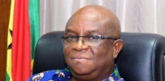 Dr Archibald Yao Letsa Volta Regional Minister