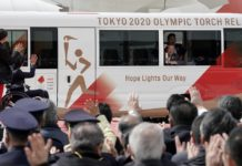 [EPA]Olympic flame arrives in Japan