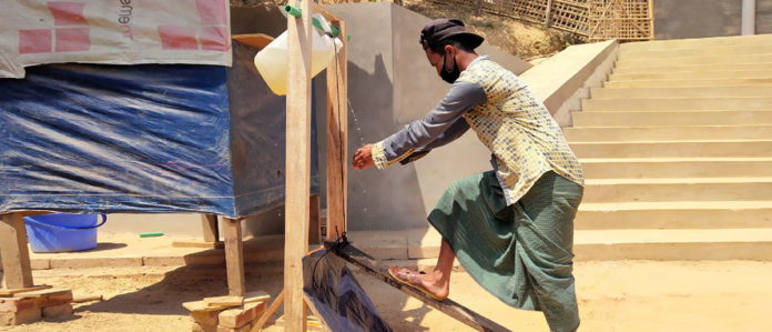 Iom Combats Covid With Clean Water Sanitation And Hygiene