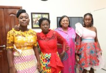 models living with autism pay courtesy call on ghana s first lady