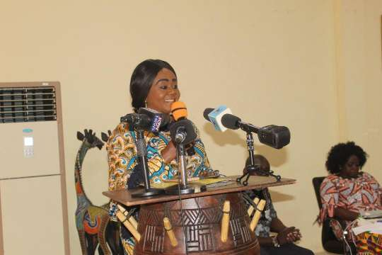 Mrs Barbara Oteng Gyasi The Minister Of Tourism Arts And Culture