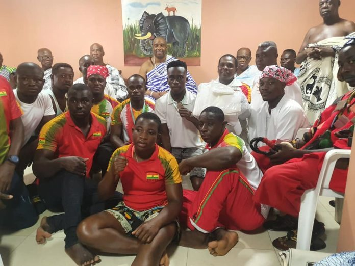 Ga Mantse and Ghana Boxing